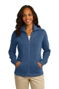 FBDCA Ladies Slub Fleece Jacket
